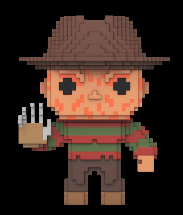 Funko POP! 8-Bit Nightmare On Elm Street: Freddy Krueger