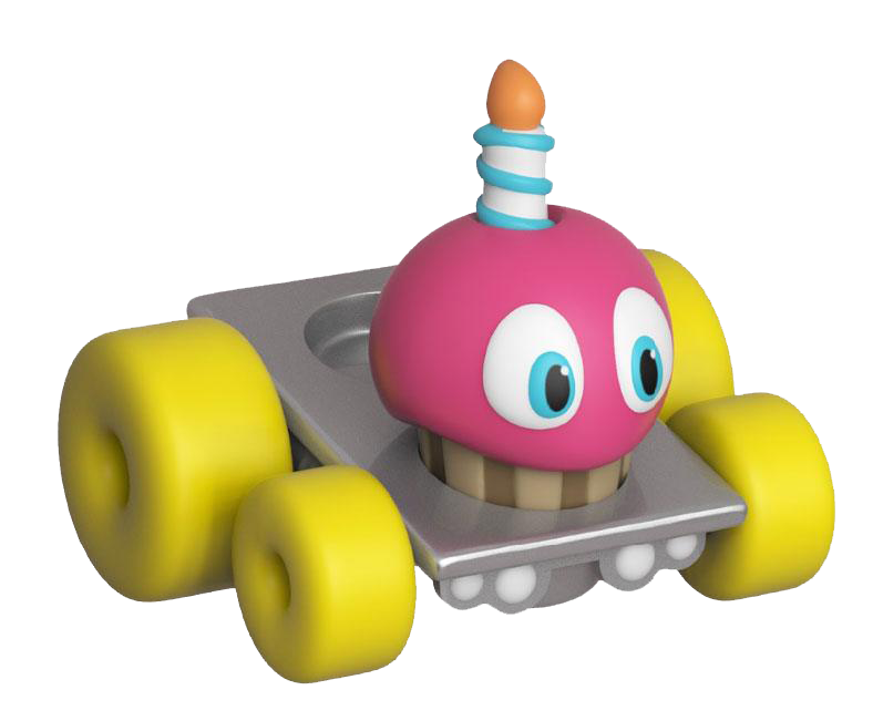 Five Nights at Freddy's Super Racers Diecast Figur Cupcake
