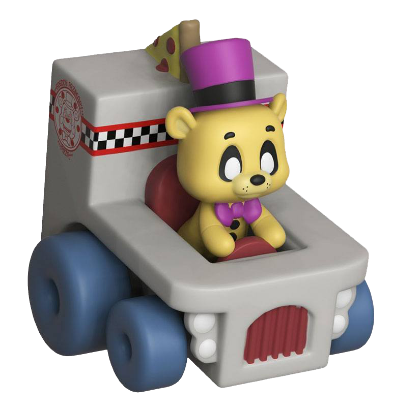Five Nights at Freddy's Super Racers Diecast Figur Golden Freddy