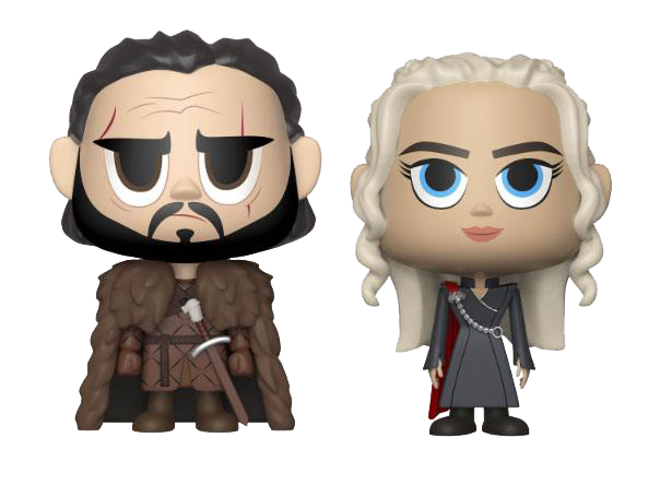 Game of Thrones VYNL Figuren Doppelpack Jon Snow & Daenerys Targaryen