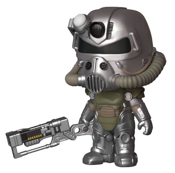 Fallout 5 Star Vinyl Figur T-51 Power Armor
