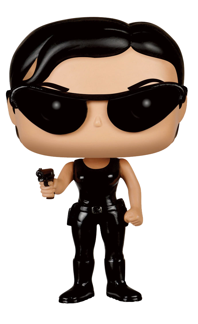 Funko POP! Movies Vinyl Figur Matrix Trinity