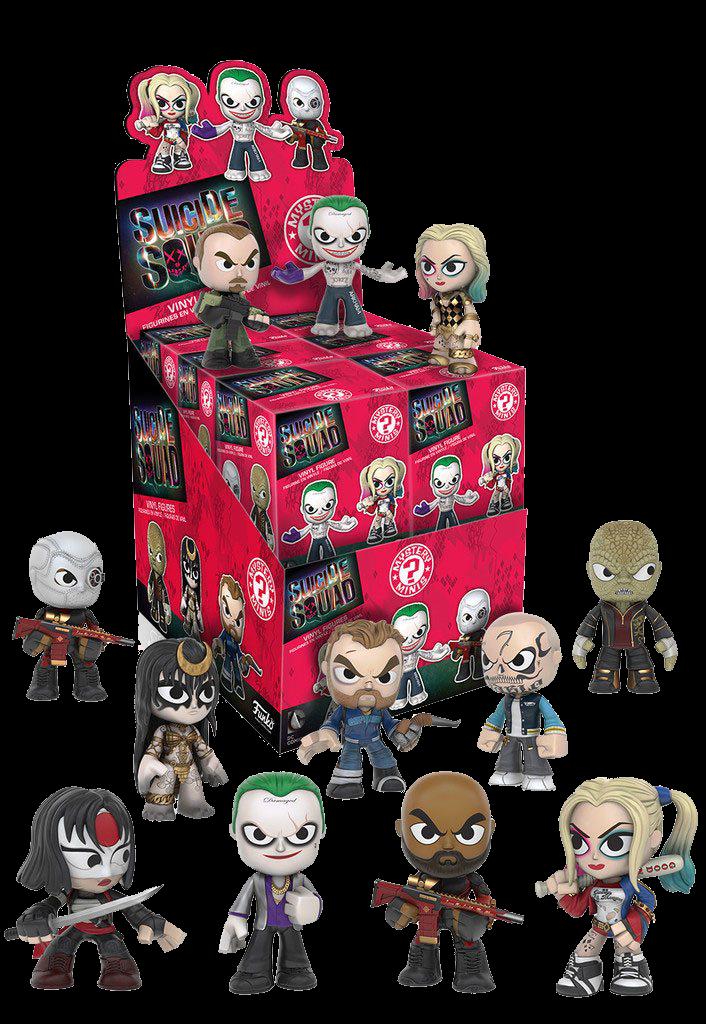 Suicide Squad Mystery Mini Blind Box