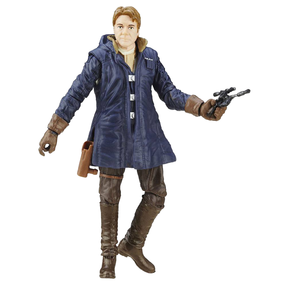 Star Wars Black Series Actionfigur Han Solo (The Force Awakens)