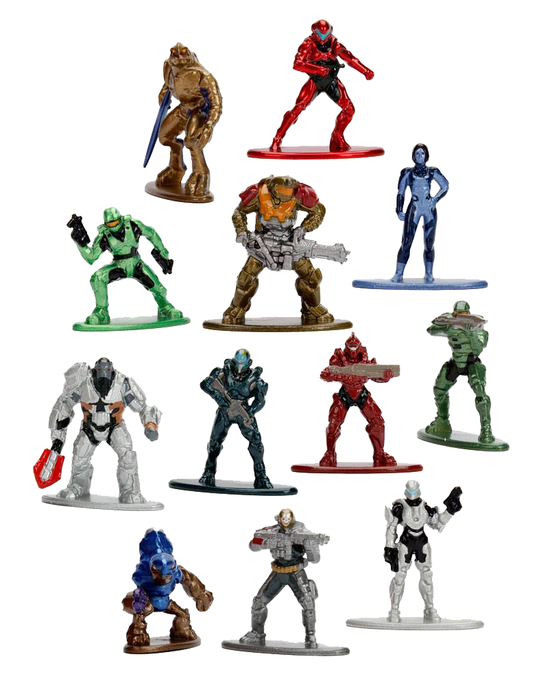Halo Nano Metalfigs Diecast Minifigur