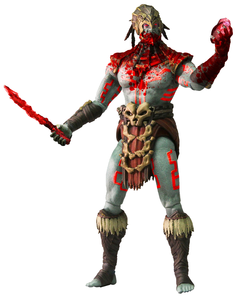 Mortal Kombat X Actionfigur Kotal Khan Blood God Variant Previews Exclusive