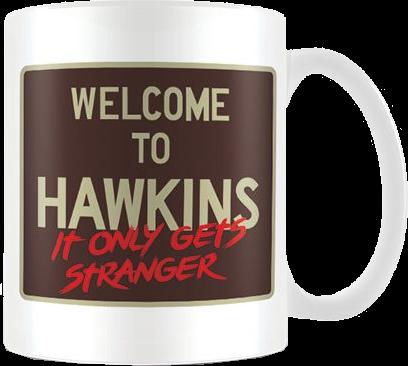 Stranger Things Tasse Welcome to Hawkins