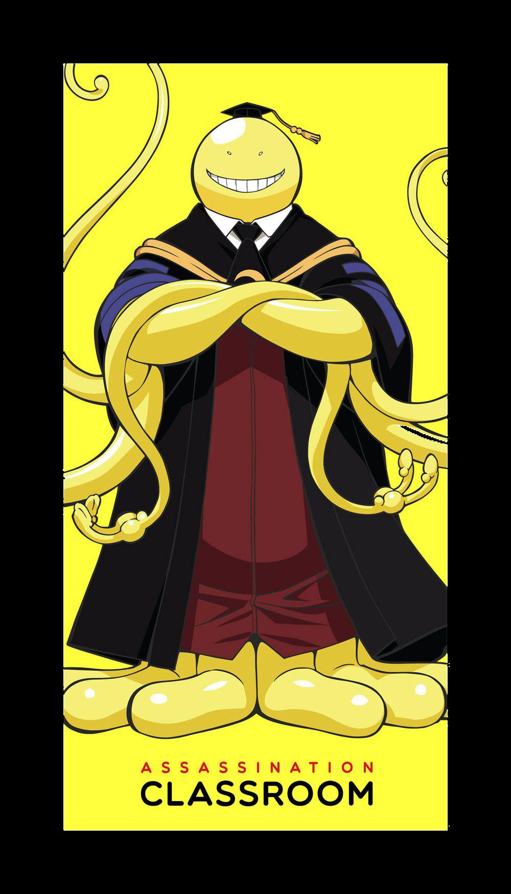 Assassination Classroom Handtuch Koro Sensei