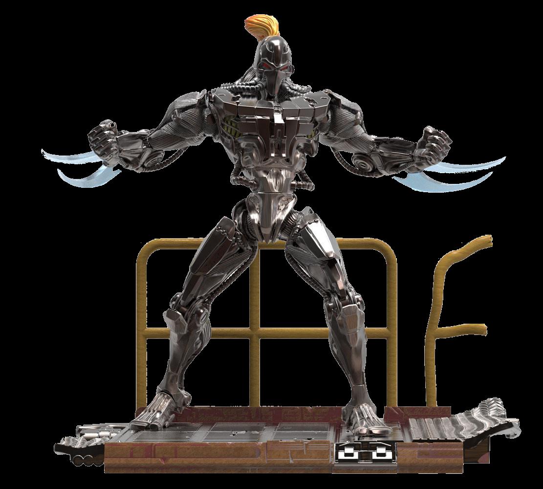 Killer Instinct Figur Fulgore