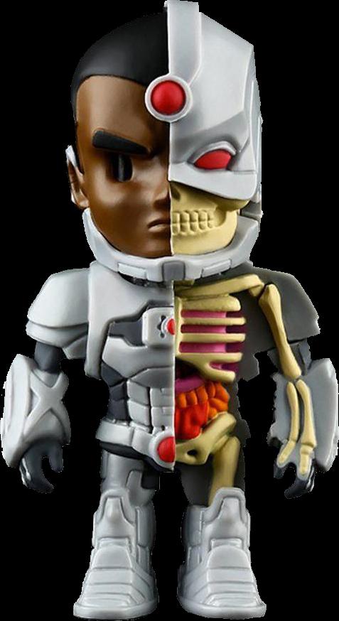 DC Comics XXRAY Figur Cyborg