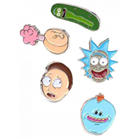 Rick And Morty Emaille-Pin (1/6)