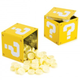Nintendo Super Mario Bros Tin ?-Block Coin Bonbons