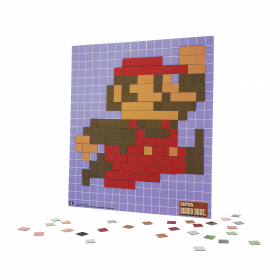 Super Mario Bros. Pixel Craft Magnet Set