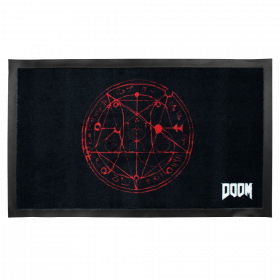 Doom Pentagramm Fußmatte