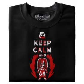 """Keep Calm And Carrie On"" Premium T-Shirt"