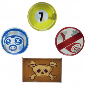 Overwatch Roadhog Button-Set