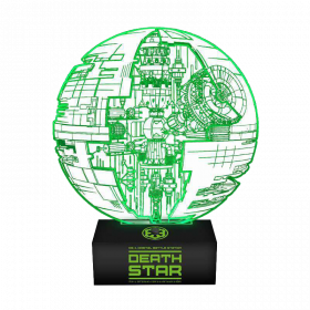 Star Wars Death Star Lampe mit 3D-Effekt