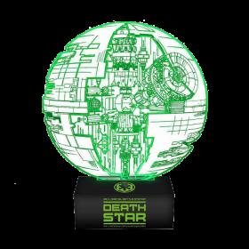 Star Wars Death Star Lampe mit 3D-Effekt