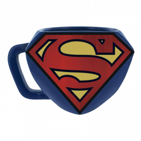 Superman – Geformter Becher mit Logo