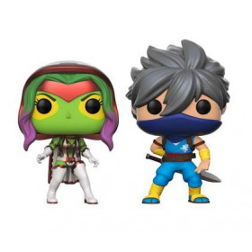 Funko POP! Games Marvel vs. Capcom Infinite: Gamora vs. Strider Exclusive 2er-Pack