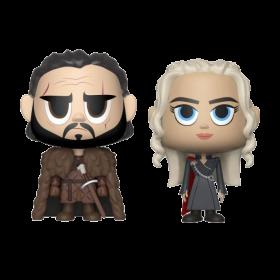 Game of Thrones VYNL Figuren Doppelpack Jon Snow & Daenerys Targaryen