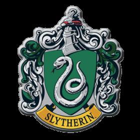 Harry Potter Magnet mit Slytherin Wappen