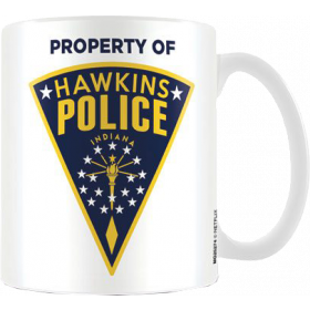 Stranger Things Tasse Hawkins Police Badge