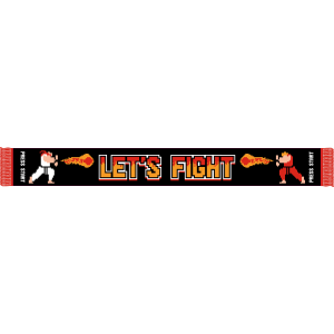 "KingsLoot Exclusive Jacquard-Schal ""Let's Fight"""