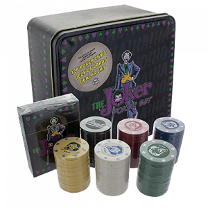DC Comics The Joker Pokerset