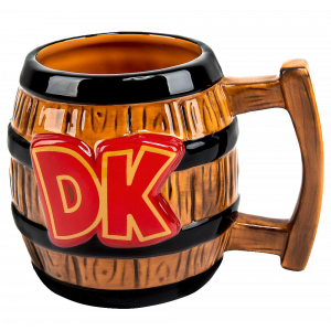 Donkey Kong 3D Fass-Tasse