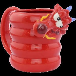 Mulan Shaped Mug 3D Tasse Mushu