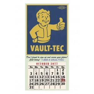 "Fallout Mini-Poster ""Vault-Tec-Kalender"""