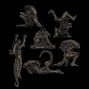 Alien Minifiguren Doppelpack Big Chap