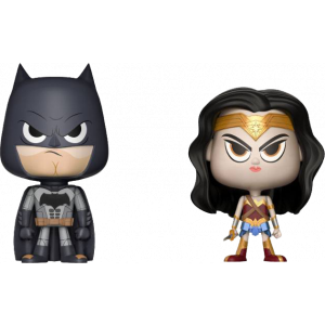 Justice League VYNL Figuren Doppelpack Batman & Wonder Woman