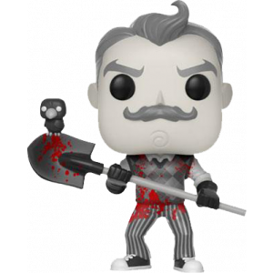 Funko POP! Games Hello Neighbor Figur Neighbor B/W Blood
