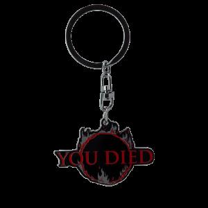 Dark Souls Metall-Schlüsselanhänger You Died