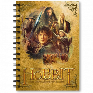 "Der Hobbit - Notizbuch ""The Desolation of Smaug"""