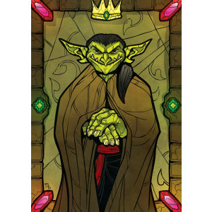 """King of Goblins"" Premium Artprint"