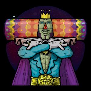 "KingsGlass ""King Of All Cosmos"""