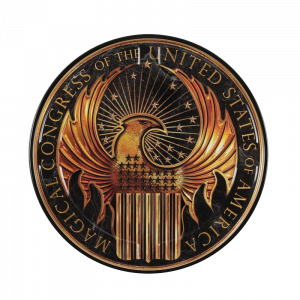 "Fantastic Beasts Filmdose ""Macusa"" Logo"