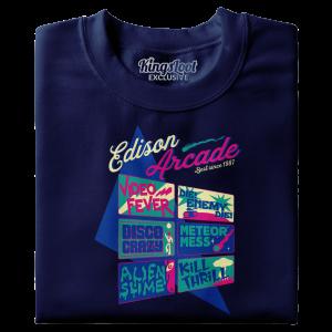 """""""Edison Arcade"""" Premium T-Shirt"""