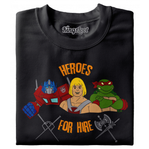 """Heroes for Hire"" Premium T-Shirt"