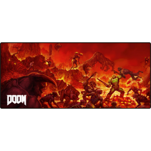 Doom Oversize Retro Mousepad
