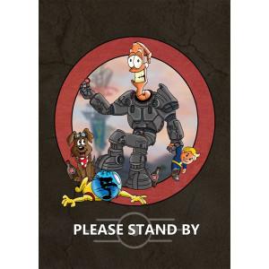 """""""Jims Fallout"""" Premium Artprint"""