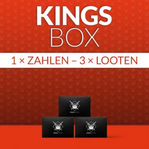 KingsBox komplett für 3 Monate