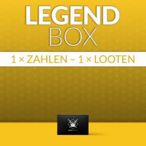 LegendBox komplett für 1 Monat