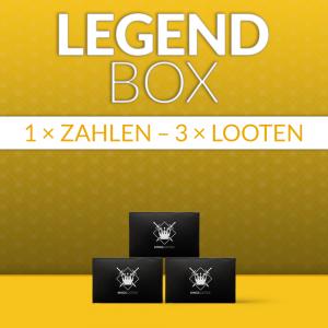 LegendBox komplett für 3 Monate