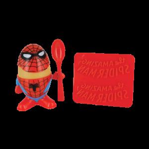 Spider-Man Eierbecher und Toastschneider