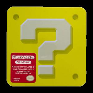 Super Mario 3D Characters Puzzle