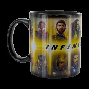 Avengers Infinity War Hitzewechsel-Tasse